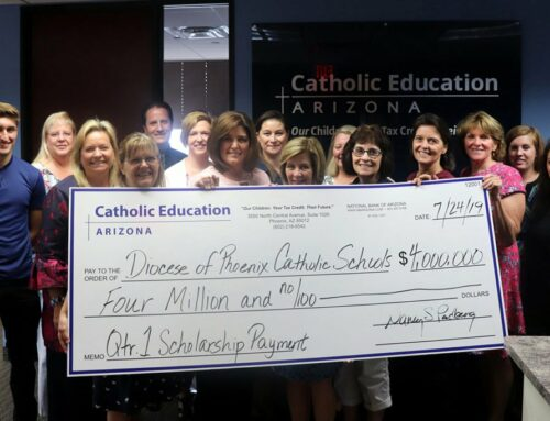 Catholic Education Arizona scoops out $4M in first wave of need-based scholarships